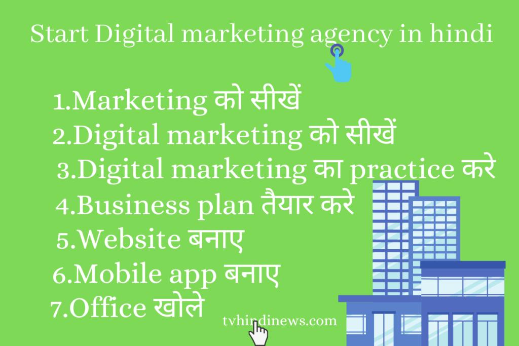 Digital marketing agency कैसे शुरू करें